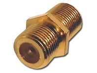 Picture of Coaxial Coupler - F-Type RF - Gold Plated