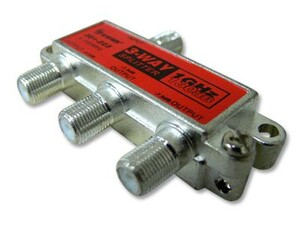 Picture of Coaxial Splitter - CATV F-Type - 3 Way - 1GHz 130dB