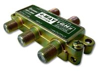 Picture of Coaxial Splitter - CATV F-Type - 4 Way - 1GHz 90dB
