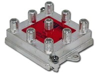Picture of Coaxial Splitter - CATV F-Type - Vertical - 8 Way - 1GHz 130dB