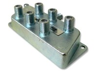Picture of Coaxial Splitter - MATV F-Type - 6 Way - 900Mhz DC-Passive