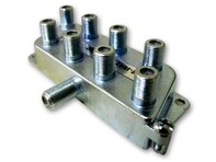 Picture of Coaxial Splitter - MATV F-Type - 8 Way - 900Mhz DC-Passive