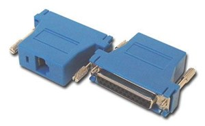 Picture of Modular Adapter Kit - DB25 Female to RJ45 - Blue