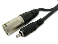 Picture of 15 FT Audio Cable - Male XLR to RCA Male Plug