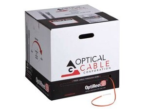 Picture of Indoor / Outdoor 2 Strand Fiber Distribution Cable - Singlemode 9/125 micron, Riser Rated - 2000 FT