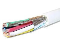 Picture of Shielded Electronic Cable - 8 Conductor 18 AWG - Plenum - 1000 FT