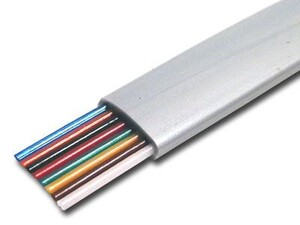Picture of Silver Satin Modular Cable - 8 Conductor - 1000 FT