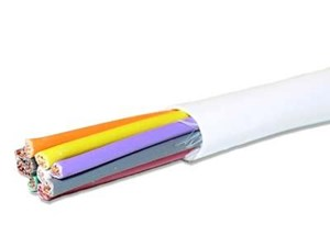 Picture of UnShielded Electronic Cable - 10 Conductor 18 AWG - Plenum - 1000 FT