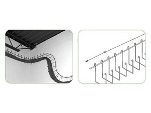 """Picture of 501 Series Wall Snake Cable Tray 3"""" Wall Snake"""