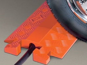 """Picture of LINEBACKER GP 1 Channel Protector 2.25"""" - Orange Open Top"""