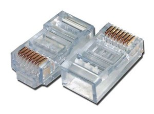 Picture of Sentinel Modular Connectors - RJ45 8P8C - for T1 - 100 pack