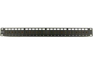 Picture of HDMI High-Density Feed Through Patch Panel - 24 Port, 1U