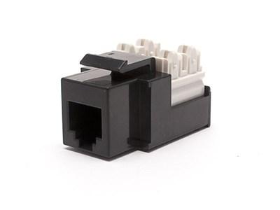 Picture of Voice Keystone Jack 90 Degree 110 UTP - Black