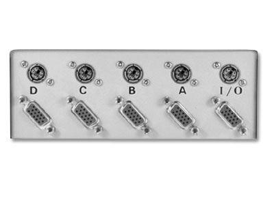 Picture of Manual Switchbox - VGA, AT Keyboard - 4 Way