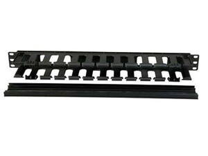 Picture of 1U Single-sided Cable Organizer with plastic fingers
