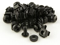 Picture of M6 Cage Nuts and Mounting Screws for Racks - 25 pack