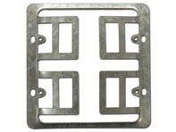 Picture of Wall Frame Caddy, Drywall Mounting Plate - Double Gang - Metal