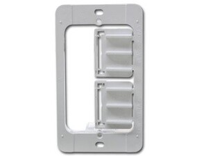 Picture of Wall Frame Caddy, Drywall Mounting Plate - Single Gang - Plastic