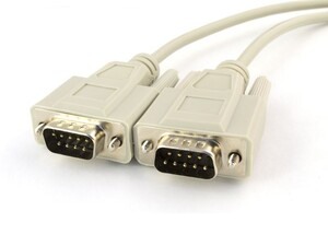 Picture of 15 FT Serial Cable - DB9 M/M