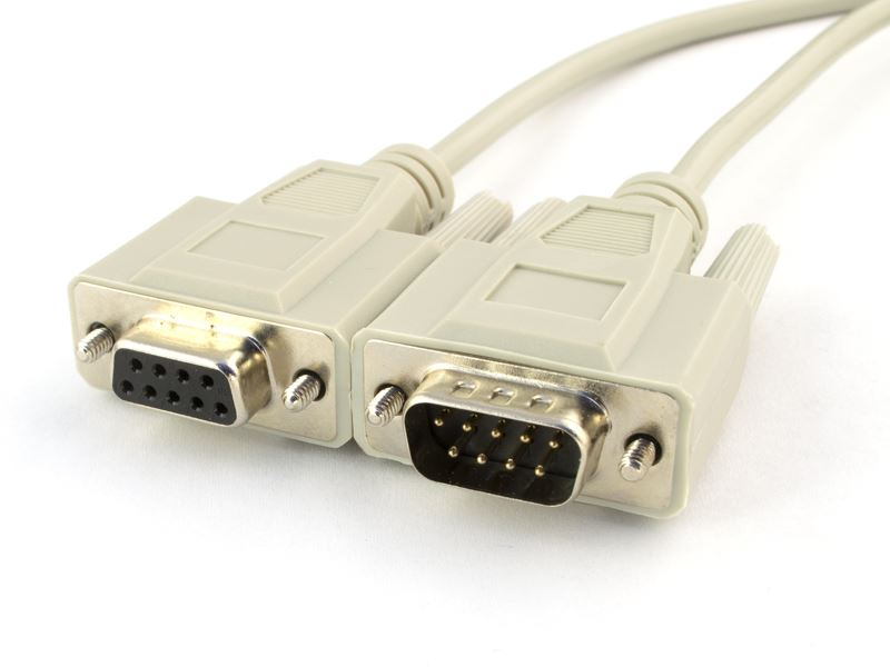 6 FT RS232 Serial Null Cable DB9 Female to DB9 Female
