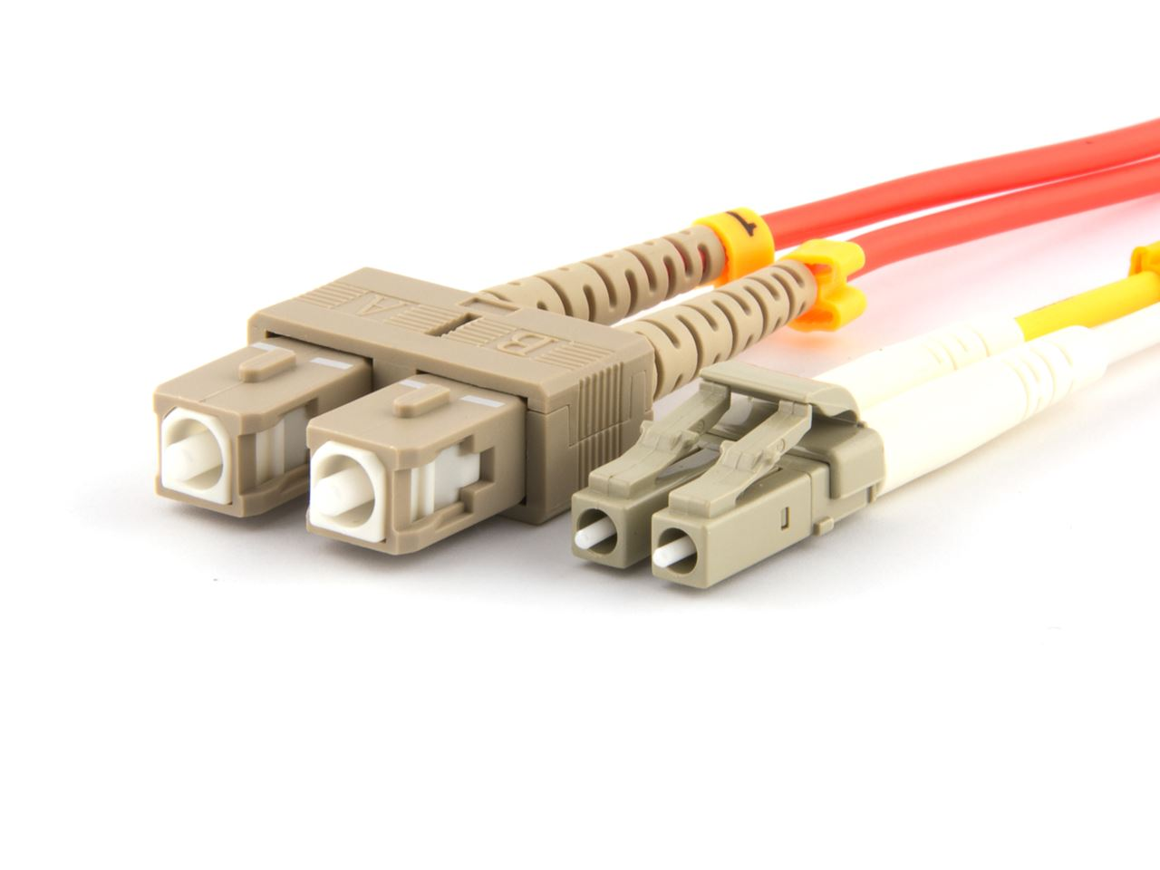 20m Multimode Fiber Optic Cable 62 5125 Lc To Sc