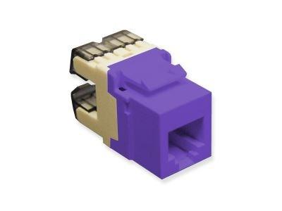 Picture of Modular Keystone Jack - RJ11 (6P6C) HD - Purple
