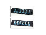 Picture of FiberOpticx Adapter Plate - Dual LC - 24 Port 10 Gig Multimode - Composite Sleeve