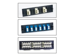 Picture of FiberOpticx Adapter Plate - Dual LC - 6 Port Multimode - Composite Sleeve