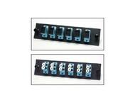 Picture of FiberOpticx Adapter Plate - SC - 6 Port 10 Gig Multimode - Composite Sleeve