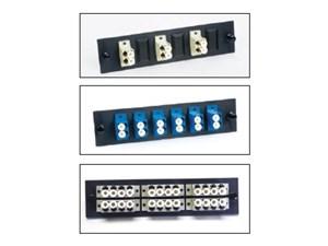 Picture of FiberOpticx Adapter Plate - Dual LC - 8 Port Multimode / Singlemode - Composite Sleeve