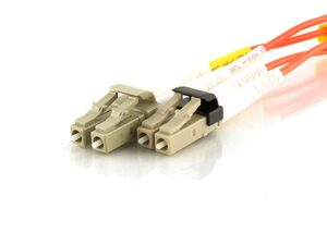 Picture of 1m Multimode Duplex Fiber Optic Patch Cable (62.5/125) - LC to Mini LC