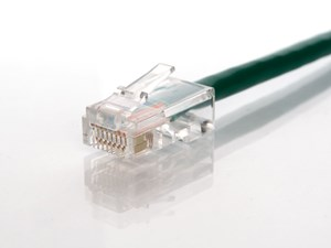 Picture of CAT5e Patch Cable - 7 FT, Green, Assembled