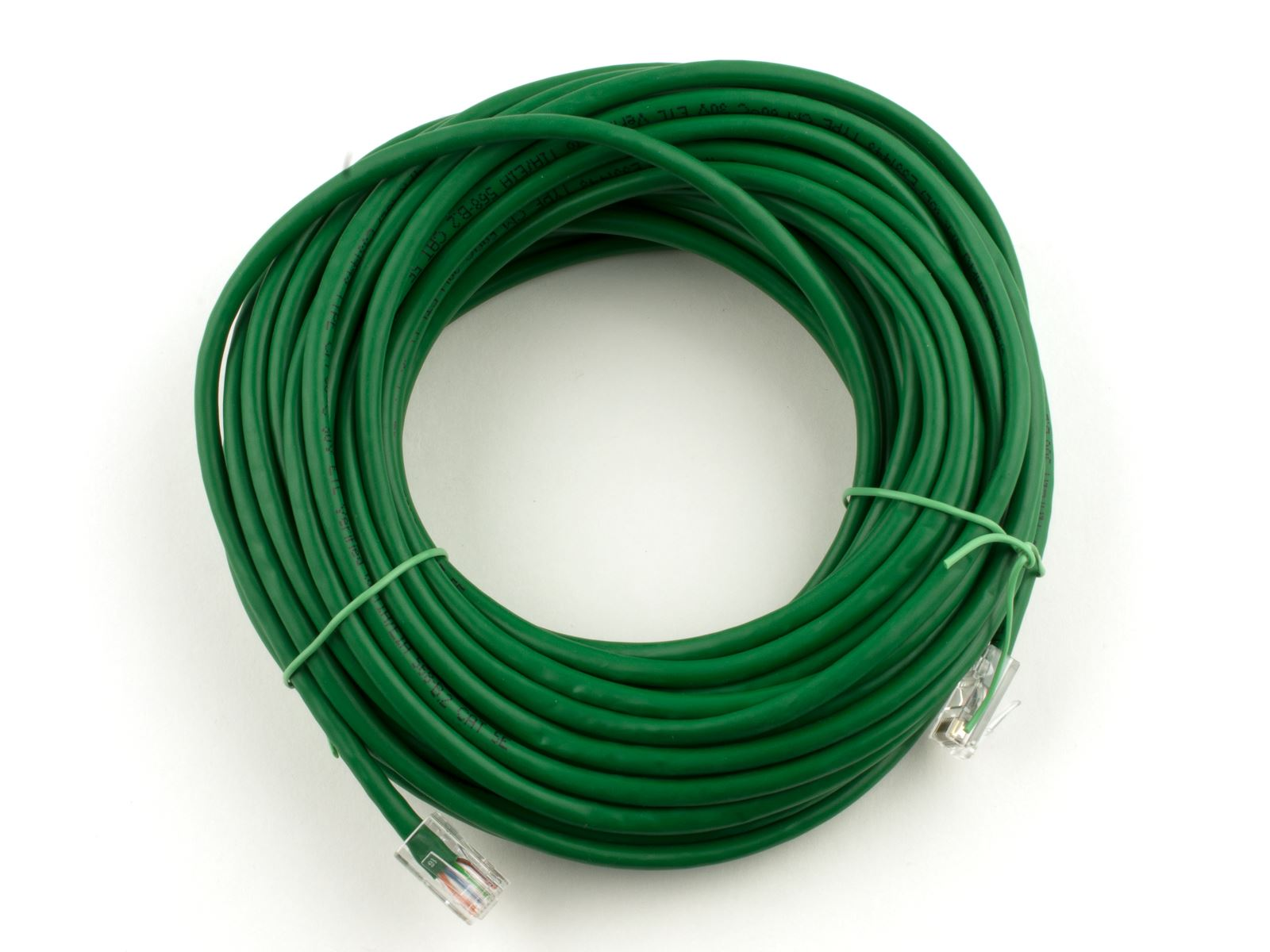 50FT Assembled CAT6 Network Patch Cable - Green | Computer Cable Store