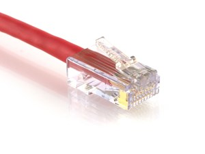 Picture of CAT6 Patch Cable - 1 FT, Red, Assembled