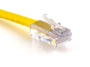 Picture of CAT6 Patch Cable - 14 FT, Yellow, Assembled
