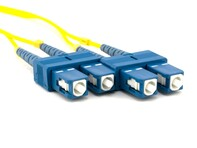 Picture of 1m Singlemode Duplex Fiber Optic Patch Cable (9/125) - SC to SC