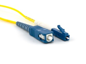 Picture of 5m Singlemode Simplex Fiber Optic Patch Cable (9/125) - LC to SC