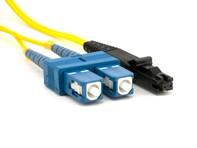 Picture of 1m Singlemode Duplex Fiber Optic Patch Cable (9/125) - SC to MTRJ