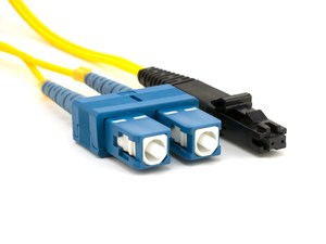 Picture of 5m Singlemode Duplex Fiber Optic Patch Cable (9/125) - SC to MTRJ