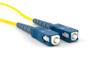 Picture of 2m Singlemode Simplex Fiber Optic Patch Cable (9/125) - SC to SC