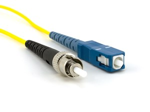 Picture of 7m Singlemode Simplex Fiber Optic Patch Cable (9/125) - SC to ST
