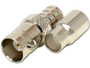 Picture of BNC Connector - Crimp, RG59 RG62, 2 piece - Female - 10 Pack