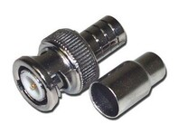 Picture of BNC Connector - Crimp - RG59, RG62 - Male - 2 piece - 10 Pack