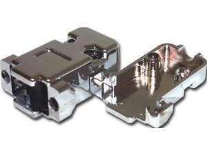 Picture of D-Sub Hood - DB9 / HD15 - Metalized Plastic - 10 Pack