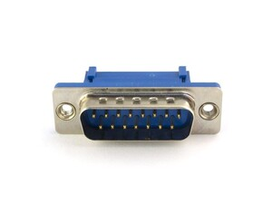 Picture of DB15 Male Ribbon Connector - 10 Pack
