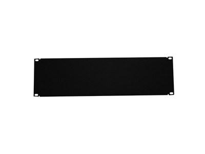 """Picture of 19"""" Blank Filler Panel, 3U, 5.25""""H, Black"""