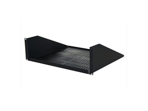 "Picture of 19"" Single-Sided Vented Shelf 3 U 15 Depth, Black"
