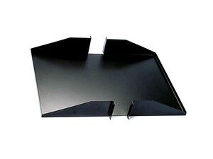 "Picture of 19"" Double-Sided Non-Vented Shelf, 2U, 25""D, Black"