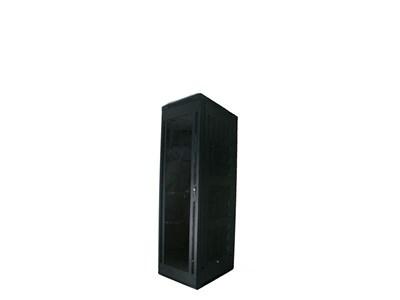 """Picture of 4Ft Floor Enclosure, Acrylic Door,  23""""W X 23""""D, 28U, Black"""