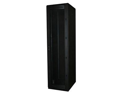 """Picture of 7Ft Floor Enclosure, Vented Mesh Door,  27""""W X 31""""D, 40U, Black, Knockdown"""